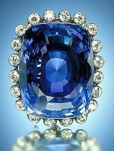 Een Sapphire Edelsteen