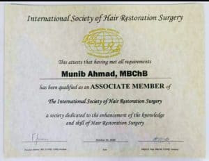 Dr Munib Ahmad ISHRS